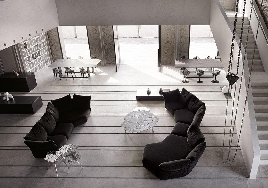 H+R | Edra > Standard Sofa