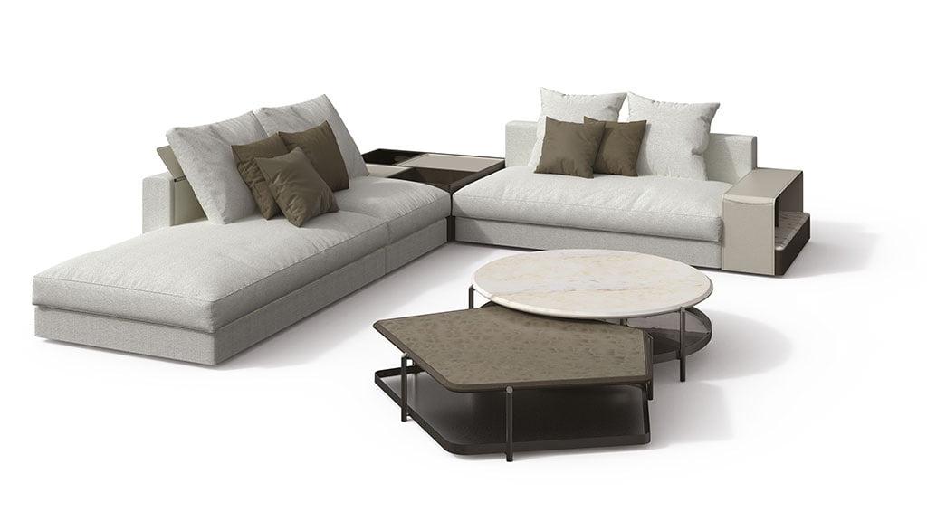 H+R | Giorgetti > Skyline Modular Sofa