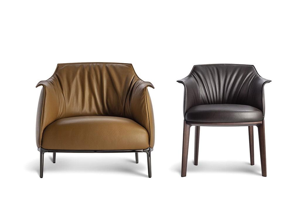 H+R | Poltrona Frau > Archibald Dining Chair