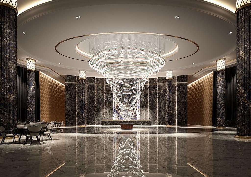 H+R | Preciosa Lighting > Pearl Curtain