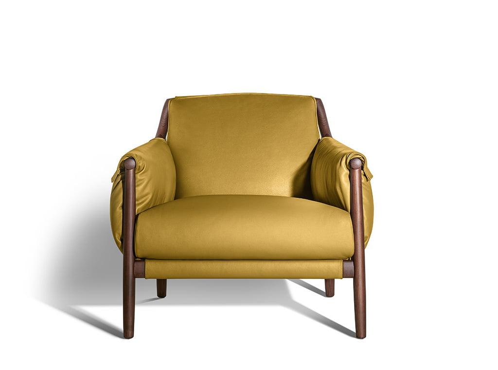 H+R   Poltrona Frau > Times Lounge armchair