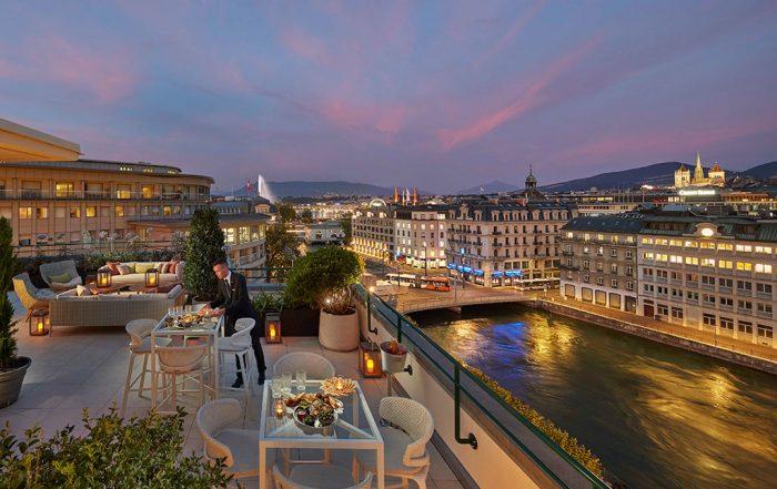 H+R | HBA > Mandarin Oriental - Royal Penthouse, Geneva, Switzerland