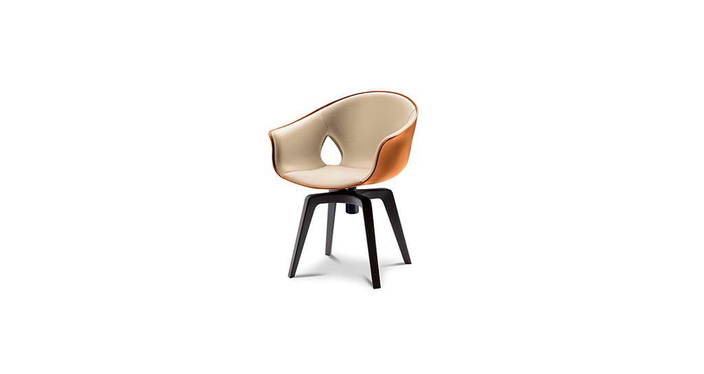 H+R | Poltrona Frau > Ginger armchair