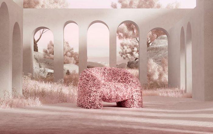 H+R | Moooi > Hortensia armchair