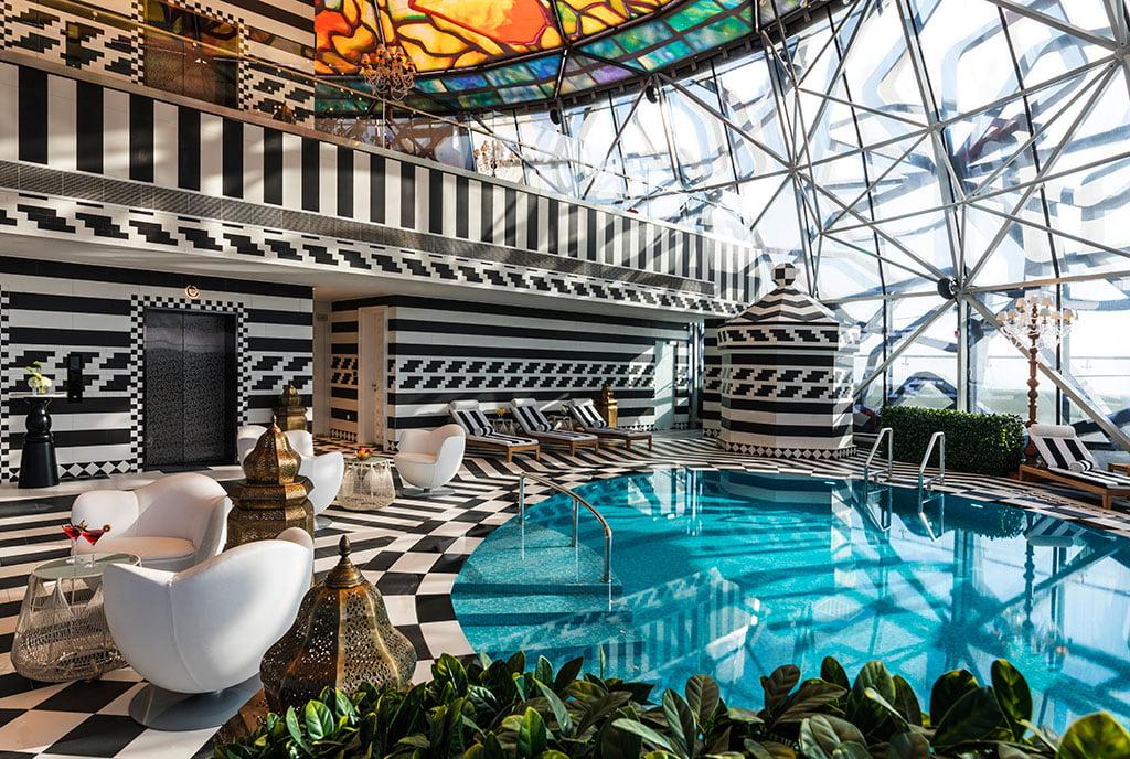 H+R | Cappellini > Case Study - Mondrian Hotel in Doha